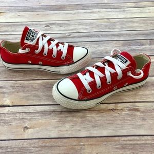 Converse: Red/White